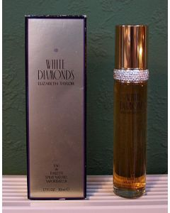 Vintage White Diamonds, Elizabeth Taylor, Eau de Toilette, 50 ml